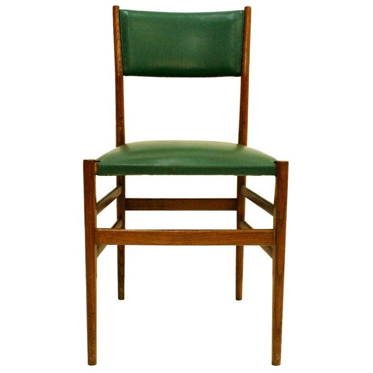 Gio Ponti Mid-Century Modern Ashwood Leggera Italian Chairs, 1950s In Good Condition For Sale In Madrid, ES