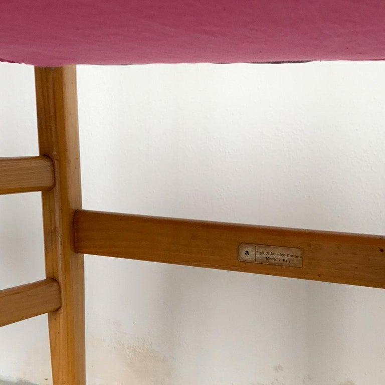 Gio Ponti Mid-Century Modern Ashwood Leggera Italian Chairs, 1950s For Sale 4