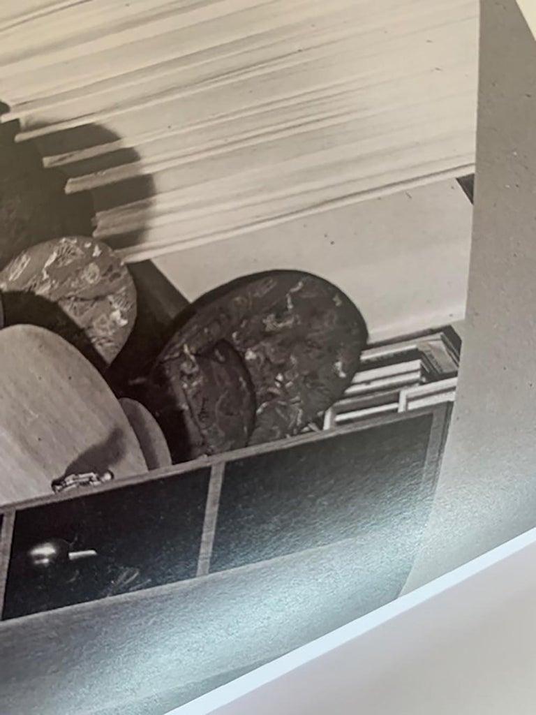 Gio Ponti Midcentury Sofa in Orange Original Velvet, 1930s For Sale 2