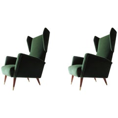 Gio Ponti Mod. 820 Armchairs for Cassina, Italy, 1953