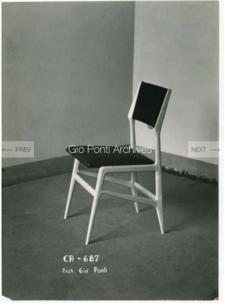 Gio Ponti Model 688 Chair For Sale 13