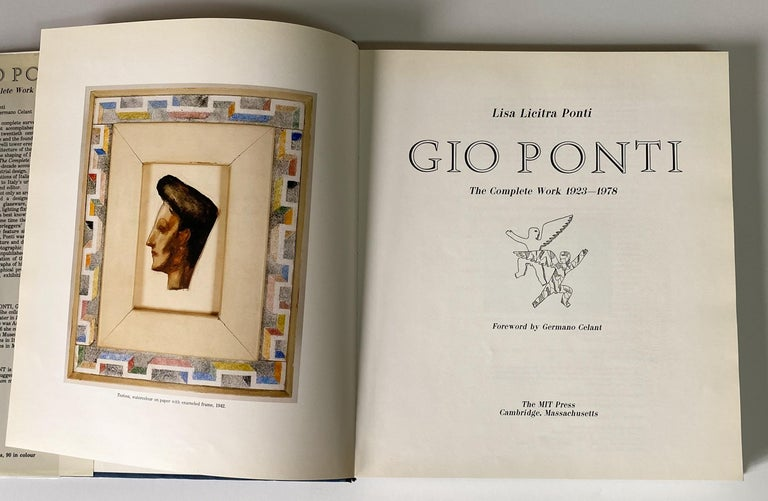 Mid-Century Modern Gio Ponti Monograph For Sale