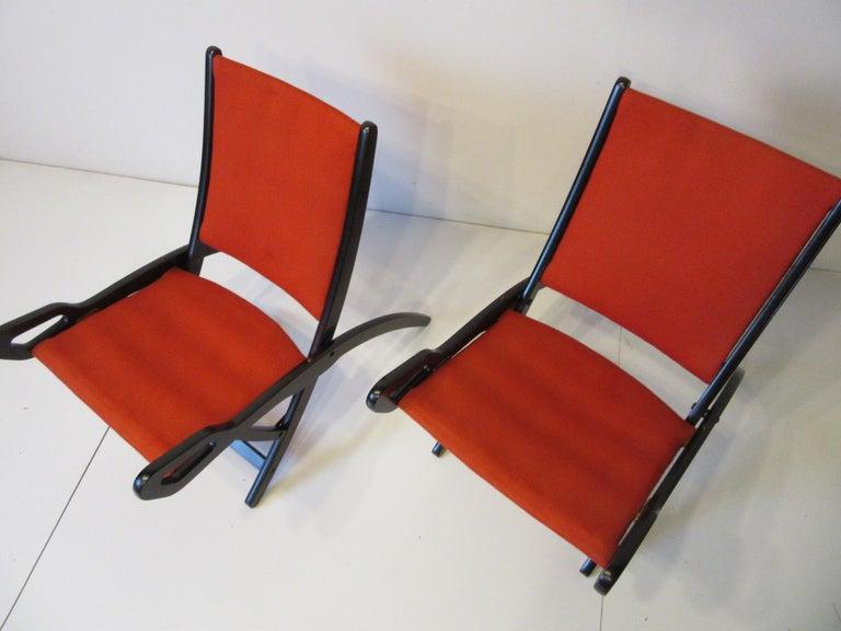 Gio Ponti Ninfea Chairs for Brevetti Reguitti, Italy For Sale 5
