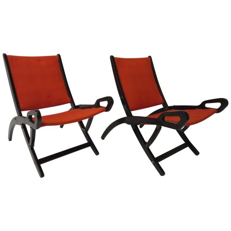 Gio Ponti Ninfea Chairs for Brevetti Reguitti, Italy For Sale