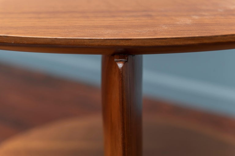 Gio Ponti Occasional Table for Singer & Sons Model 2136 In Excellent Condition For Sale In San Francisco, CA