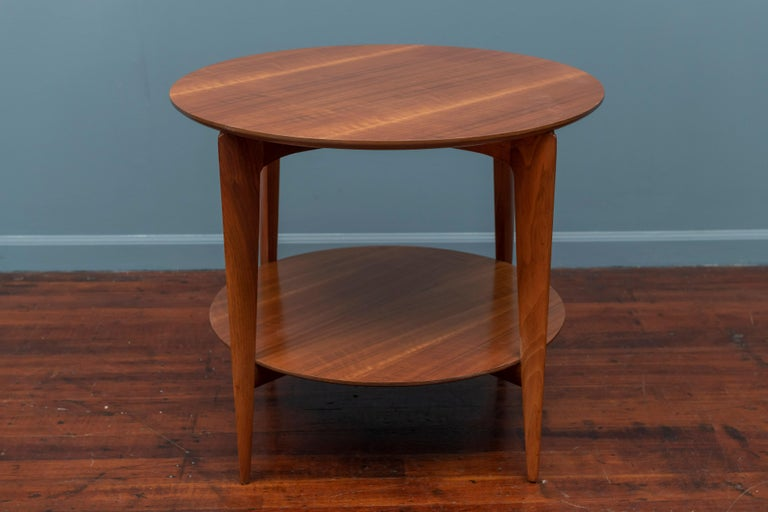 Walnut Gio Ponti Occasional Table for Singer & Sons Model 2136 For Sale