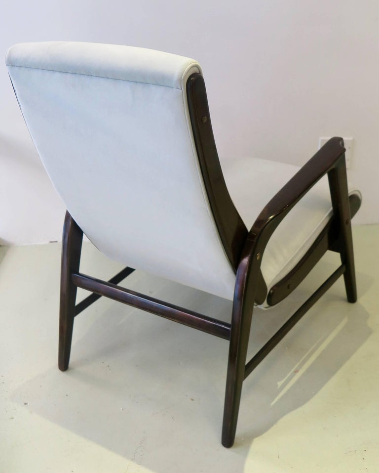 Italian Gio Ponti Pair of Armchairs from the