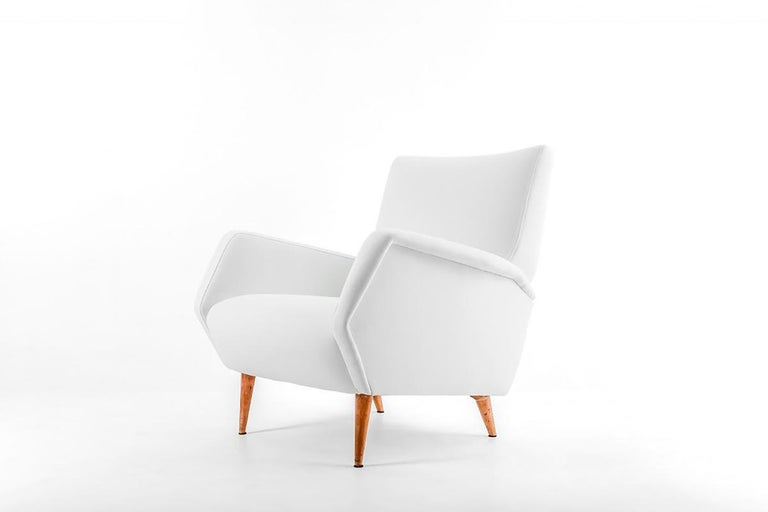 Gio Ponti Pair of Armchairs, Model