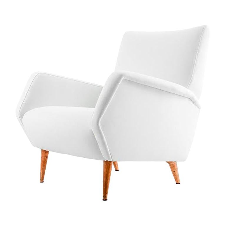 "Gio Ponti Pair of Armchairs, Model ""803"" Manufactured by Cassina Italy, 1955 For Sale"