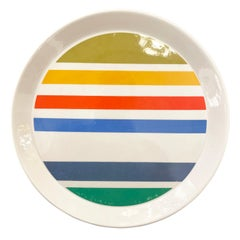 Gio Ponti Plate for Ceramiche Franco Pozzi