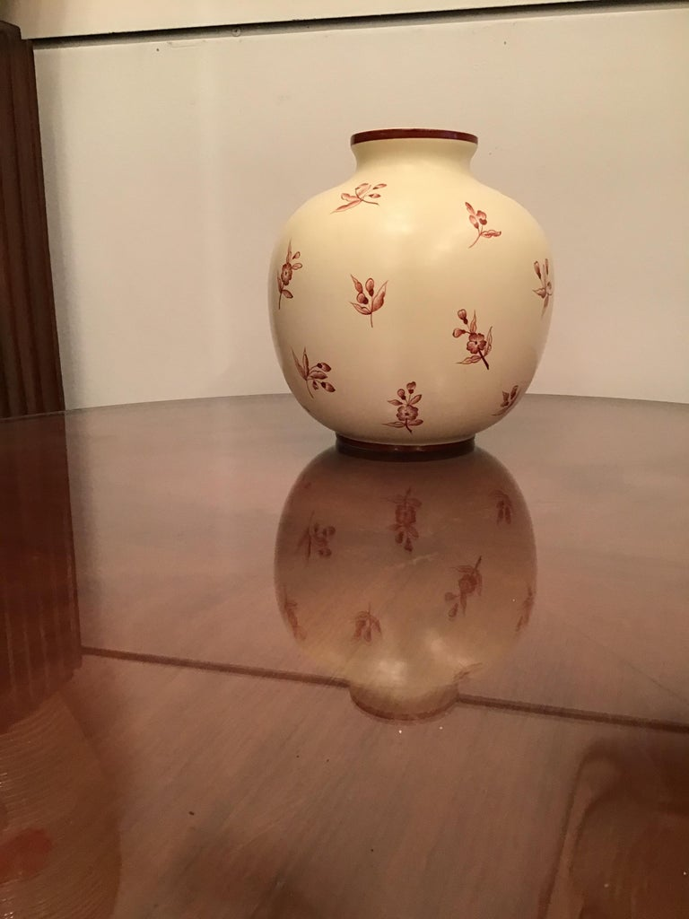 Gio' Ponti Richard Ginori Vase Ceramic, 1930, Italy For Sale 5