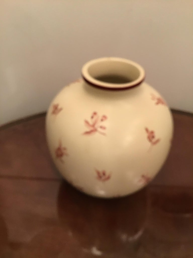 Gio' Ponti Richard Ginori Vase Ceramic, 1930, Italy For Sale 6