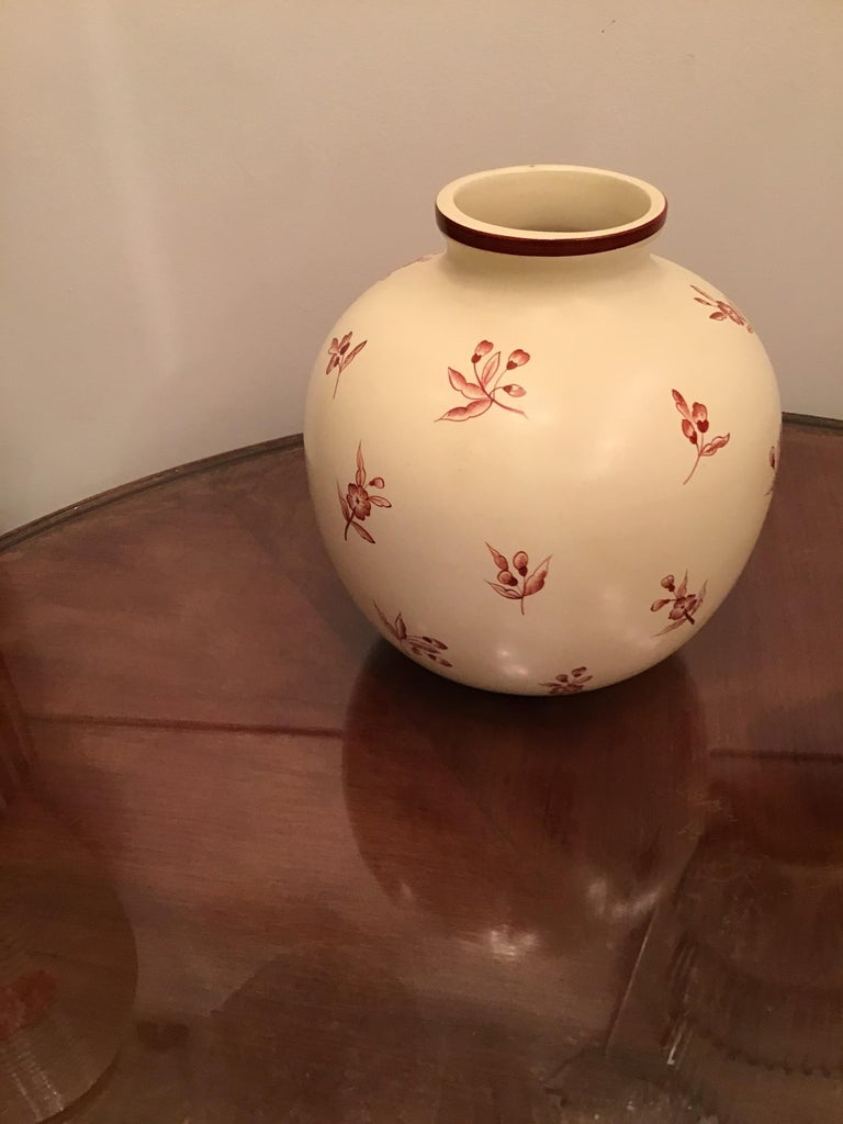 Gio' Ponti Richard Ginori Vase Ceramic, 1930, Italy For Sale 8