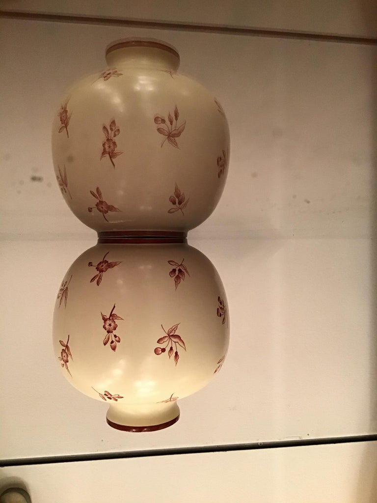 Gio' Ponti Richard Ginori Vase Ceramic, 1930, Italy For Sale 3