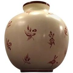 Gio' Ponti Richard Ginori Vase Ceramic, 1930, Italy