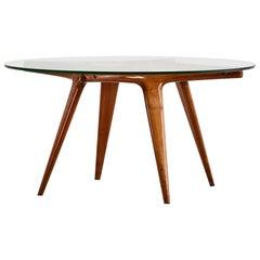 Gio Ponti, Round Coffee Table, circa 1940