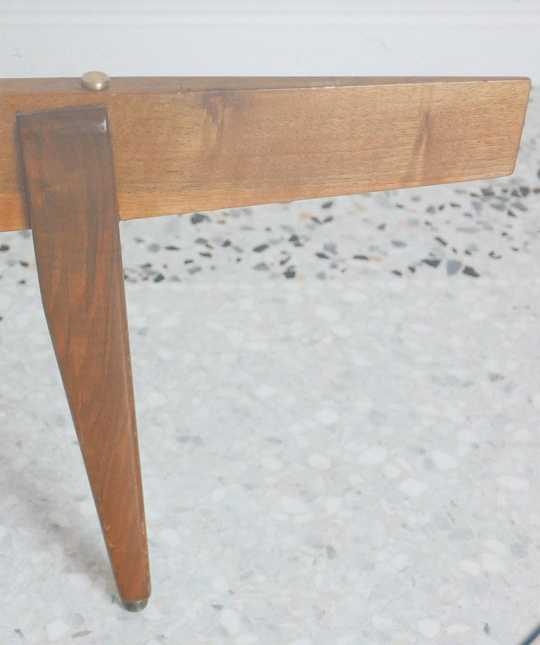 Gio Ponti Low Table Manufactured by Giordano Chiesa with expertise, Milano 1956 For Sale 4