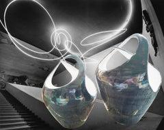 Due Vasi Intrecciati Ceramica