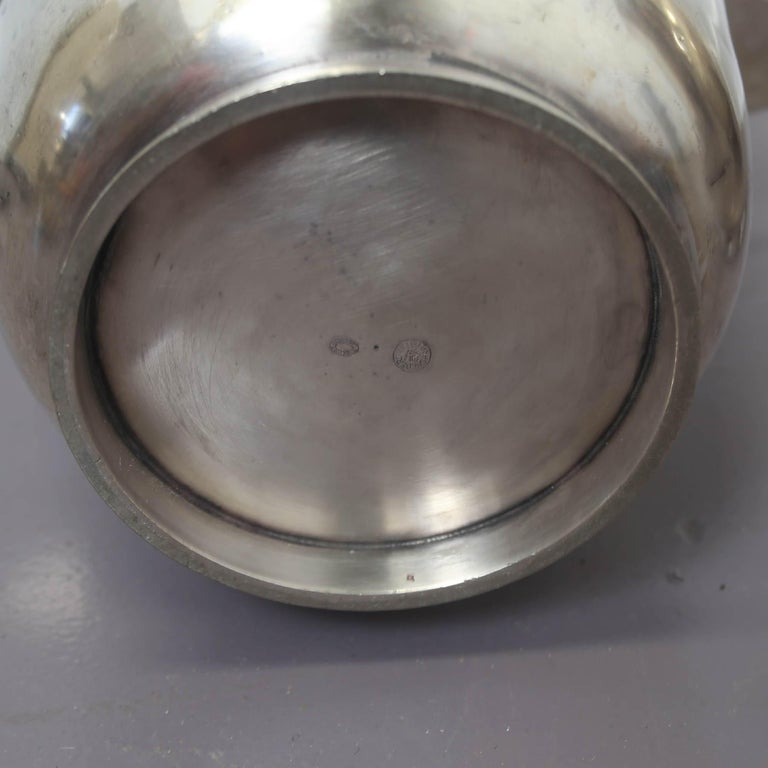Mid-Century Modern Gio Ponti Silver Plated Champagne Buckets for Fratelli Calderoni For Sale