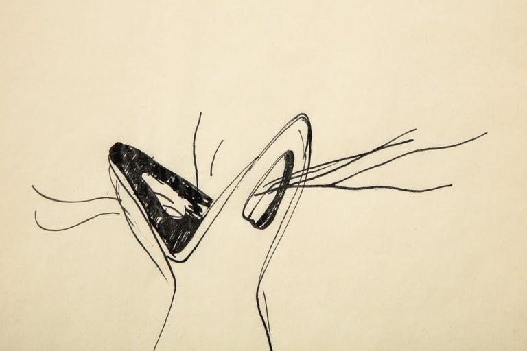 Mid-20th Century Gio Ponti Sketch