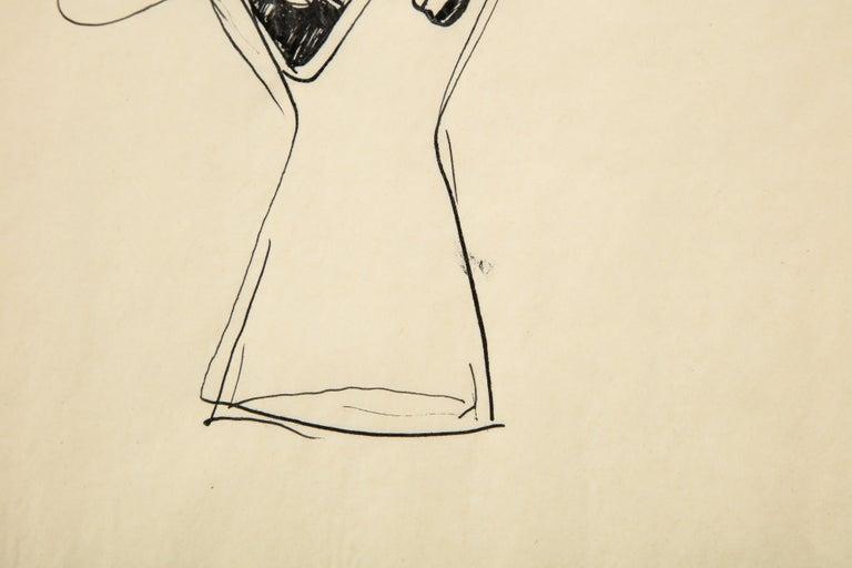 Paper Gio Ponti Sketch
