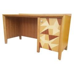 """Gio Ponti Style Desk Designed for """"Hotel della Citta """" Forlì, Italy, 1957"""