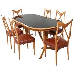 Gio Ponti Style Dining Room Set
