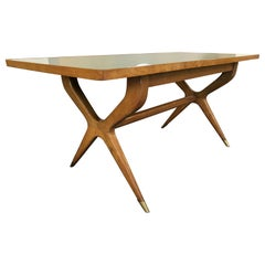 Gio Ponti Style Dining Table from 1950s