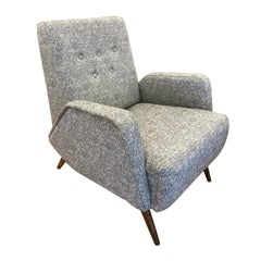 Gio Ponti Style Lounge Chair, Italy, 1960s