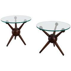 Gio Ponti Style Tripod Tables