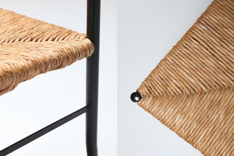 Gio Ponti Superleggera Dining Chairs Edition 'De Bijenkorf' Set of Five For Sale 2
