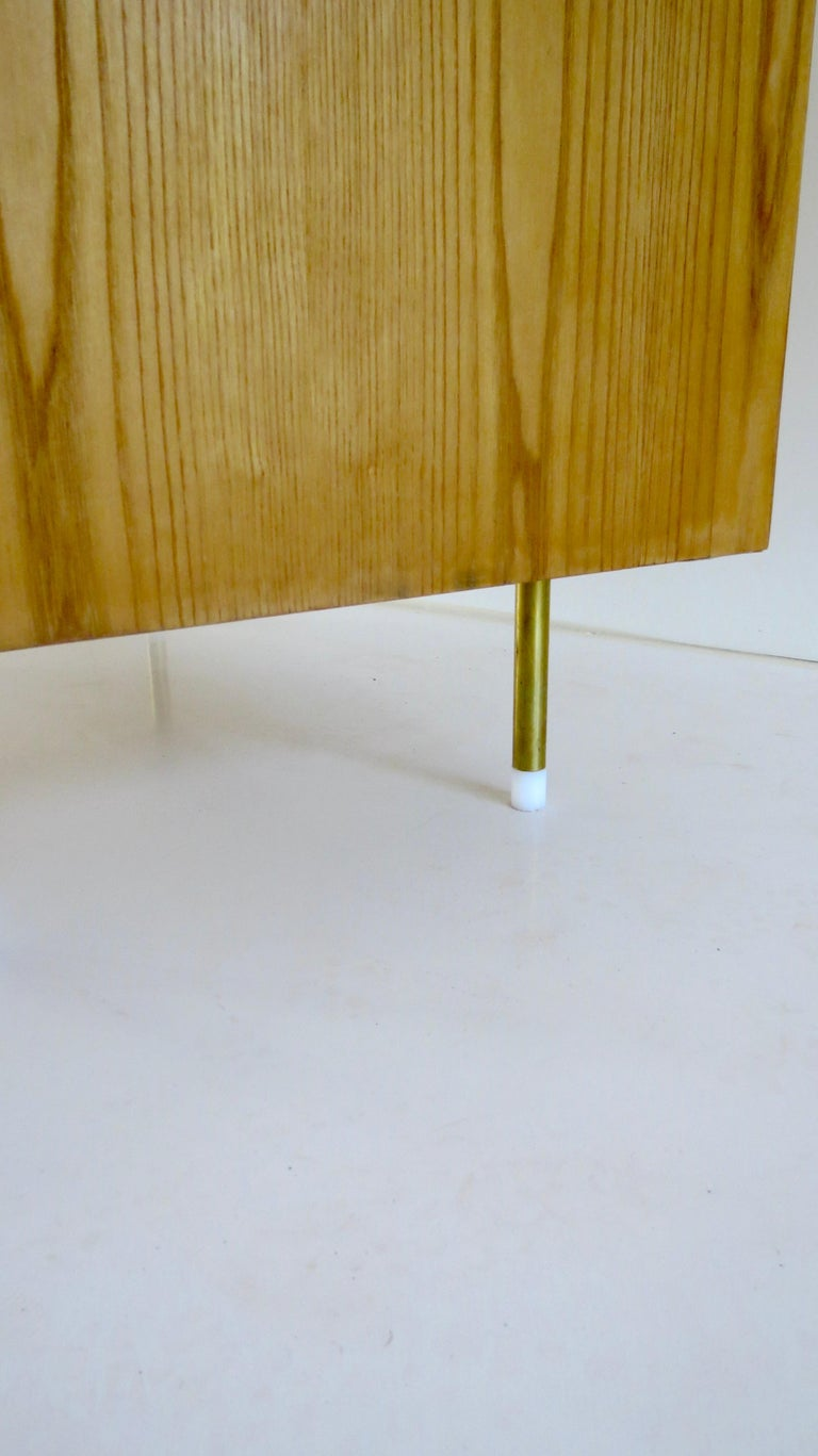 Gio Ponti Three Drawers Green Cabinet from Hotel Parco dei Principi, Rome, 1964 For Sale 10