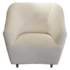 Gio Ponti Two Club Chairs for Casa E Giardino in Excellent Condition