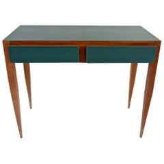 Gio Ponti Vanity Console Desk formica from Hotel Parco Dei Principi, Roma, 1964