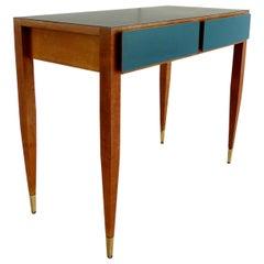 Gio Ponti Vanity Console Desk from Hotel Parco Dei Principi, Roma, 1964