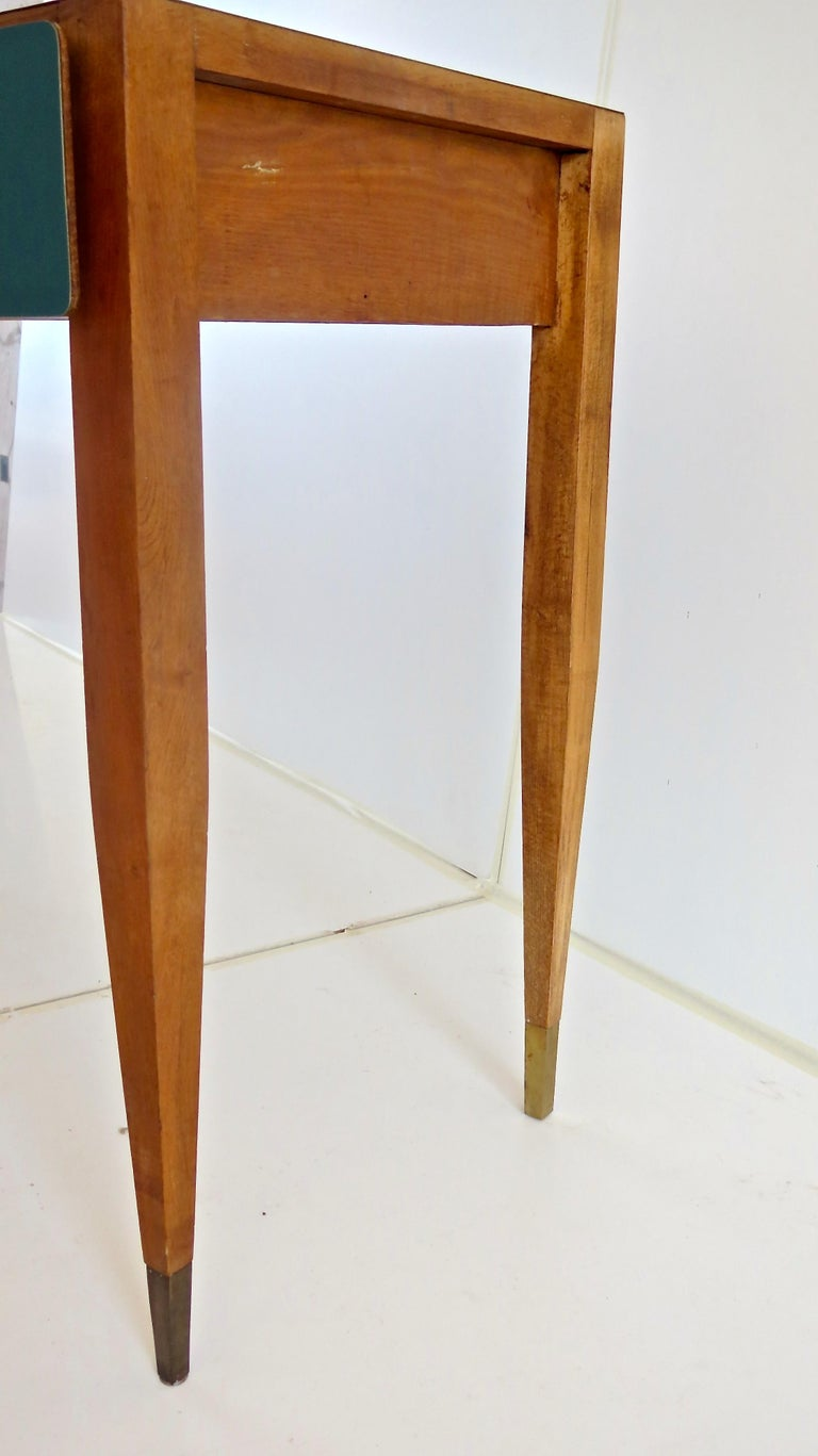 Brass Gio Ponti Vanity from Hotel Parco dei Principi, Roma 1964 For Sale
