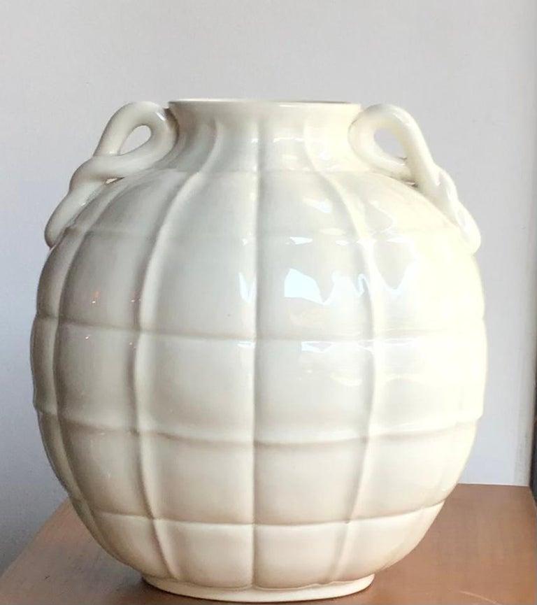 Art Deco Gio' Ponti Vase Ceramic 1929 Italy  For Sale