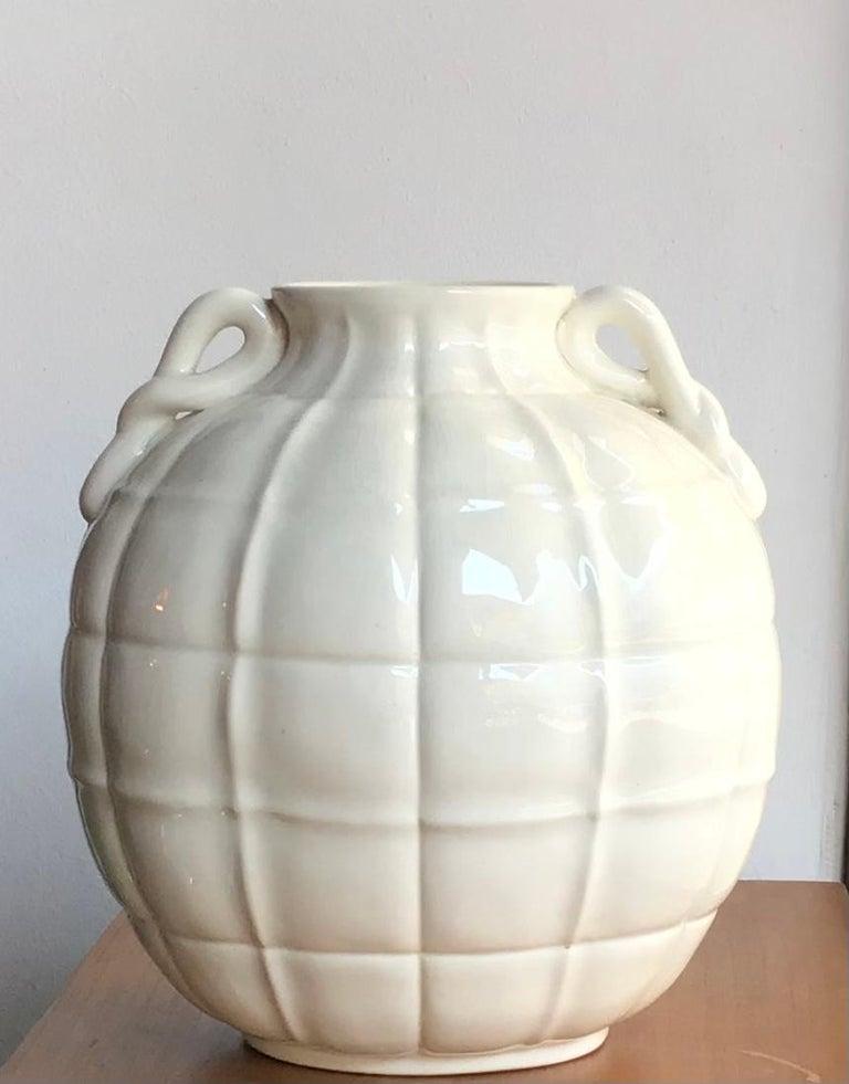 Italian Gio' Ponti Vase Ceramic 1929 Italy  For Sale