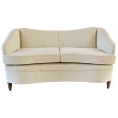 Gio Ponti White Sofa from Casa & Giardino, circa 1938