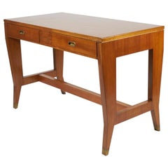 Gio Ponti Wooden Desk from the Banca Nazionale del Lavoro, Italy, 1950