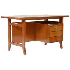 Gio Ponti writing desk for Schirolli Italian Mid-Century 1960