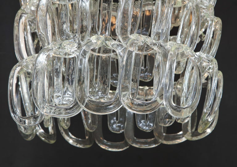 Giogali Chandelier by Angelo Mangiarotti for Vistosi For Sale 3