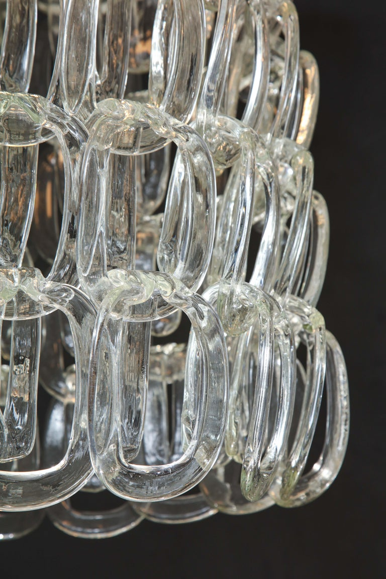 Giogali Chandelier by Angelo Mangiarotti for Vistosi For Sale 4
