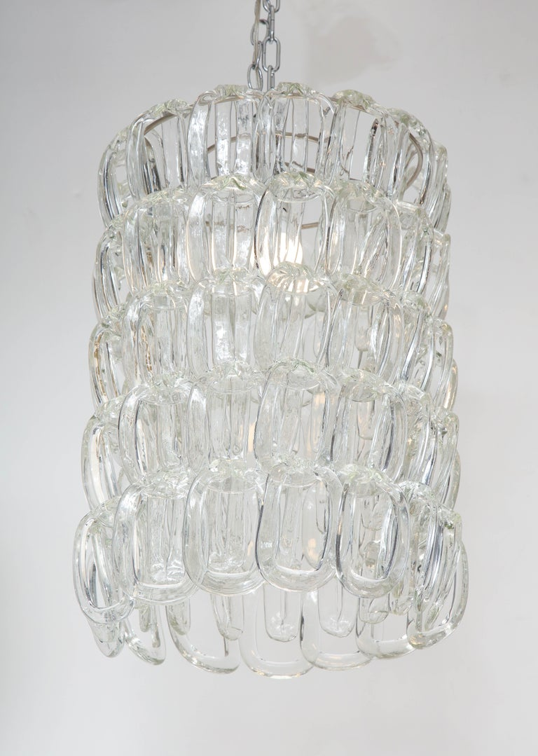 Giogali Chandelier by Angelo Mangiarotti for Vistosi In Good Condition For Sale In New York, NY