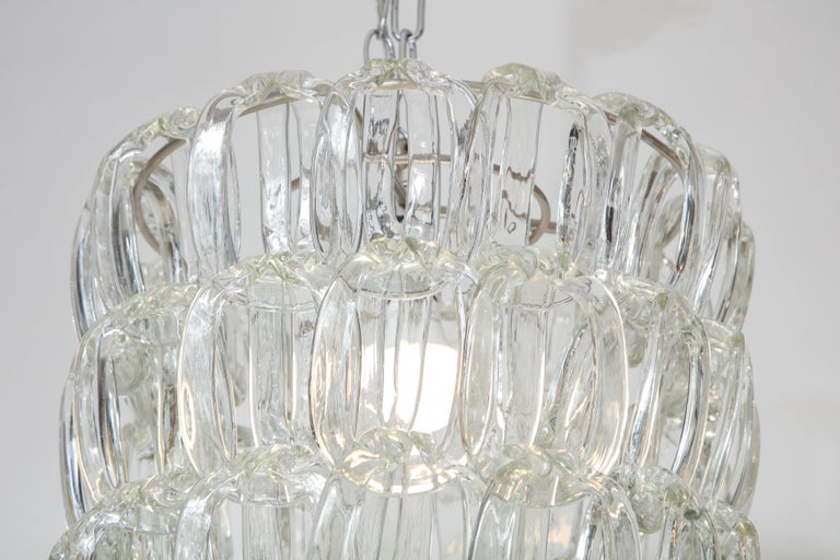 Giogali Chandelier by Angelo Mangiarotti for Vistosi For Sale 1