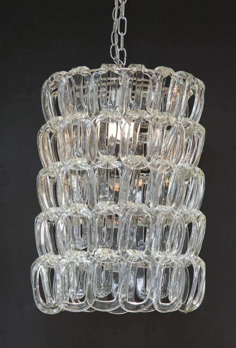 Giogali Chandelier by Angelo Mangiarotti for Vistosi For Sale 2