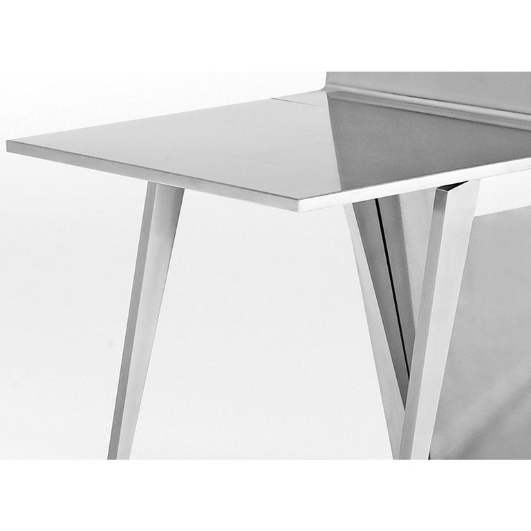 German Gioia-Meller-Marcovicz, The Monolith, a Dining Table and Chairs For Sale