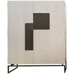 Giorgio 1 XL Oak Cabinet by Bosco Fair and Emanuele Genuizzi