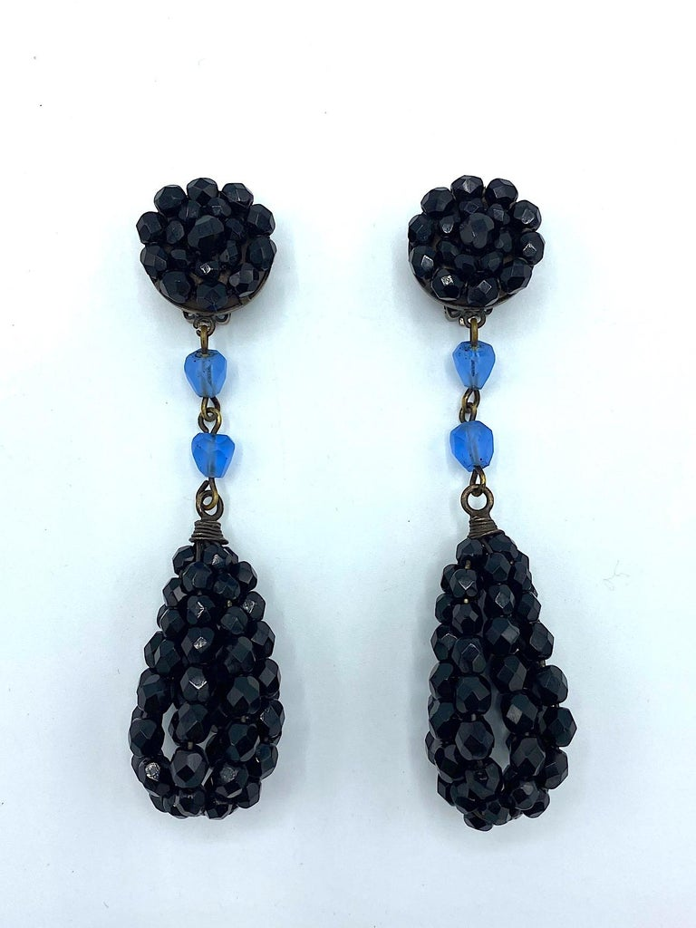 Women's Giorgio Armani 1980s Black Bead 4