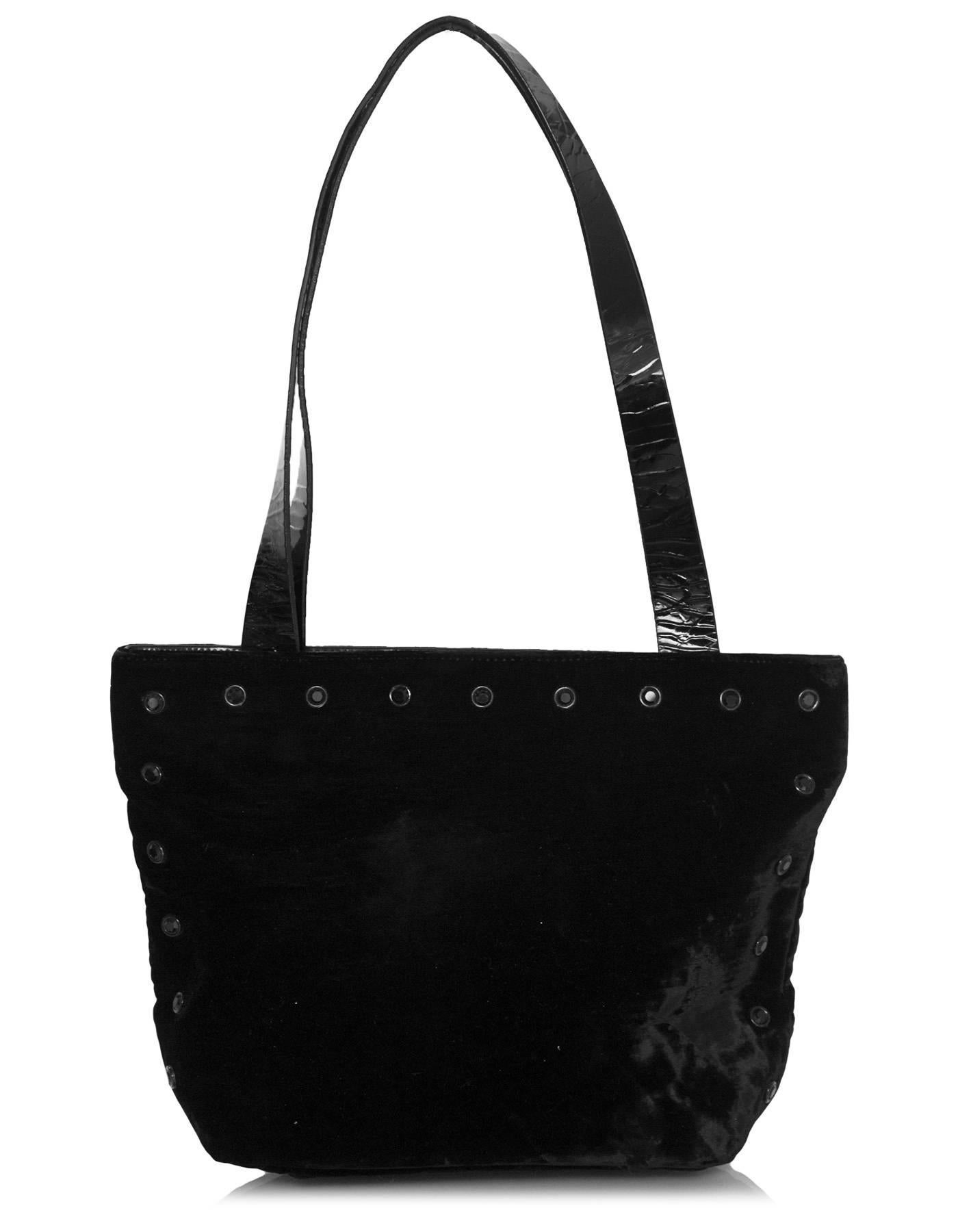 1stdibs Pauric Sweeney Black Patent Large Handle Bag JqlKQLnuD4